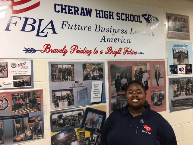 Cheraw High student to serve on FBLA council Featured Photo