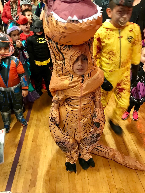 Cutest costume winner