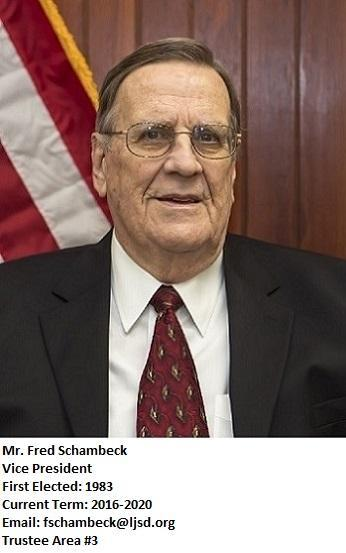 Board Vice President Fred Schambeck
