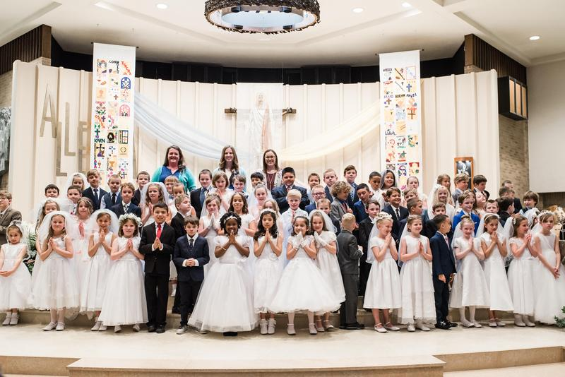 God Bless our First Communicants! Featured Photo
