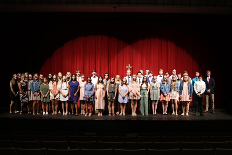 48 inducted into the National Honor Society Featured Photo