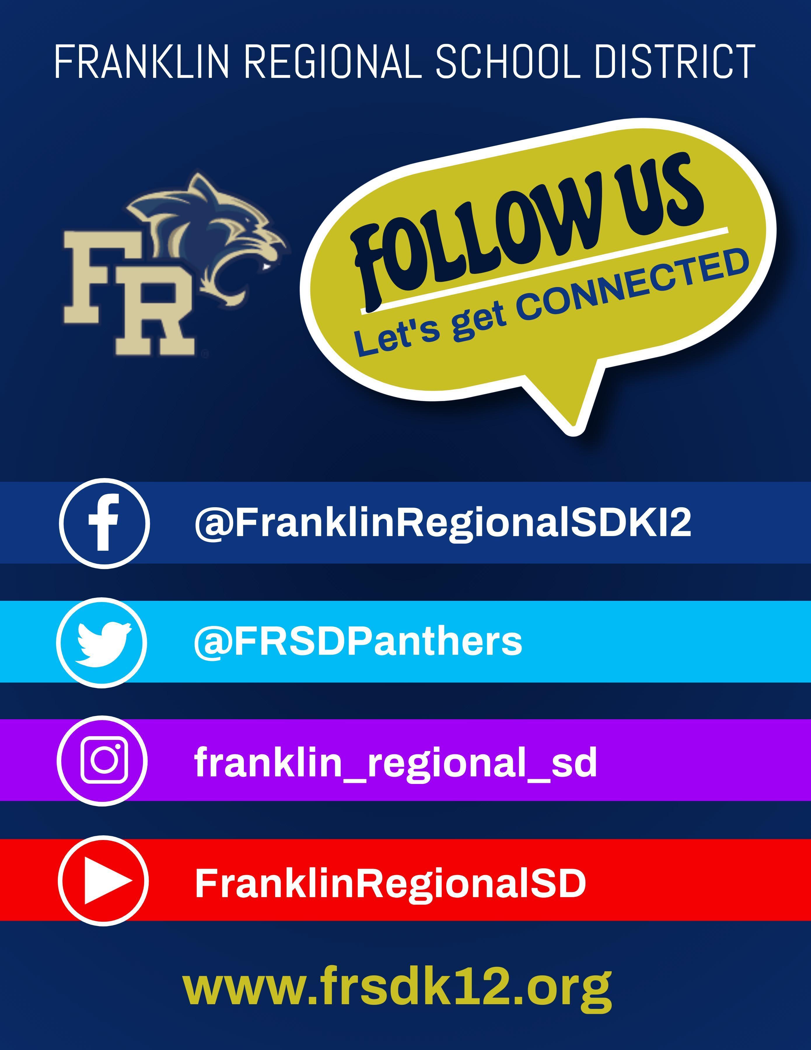 FRSD Social Media Accounts