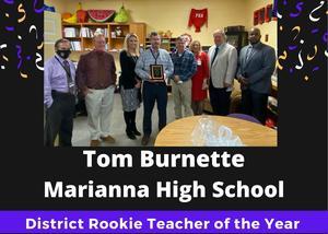Rookie Teacher of the Year