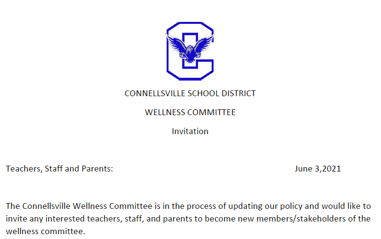 You're invited to be part of our wellness committee Featured Photo