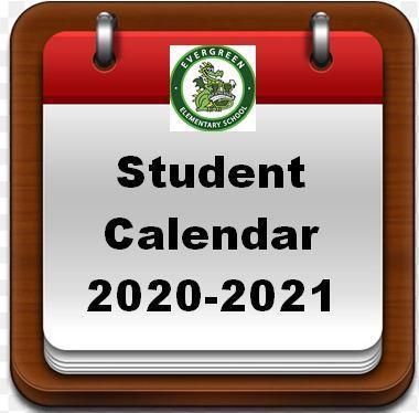 Student Calendar 20-21