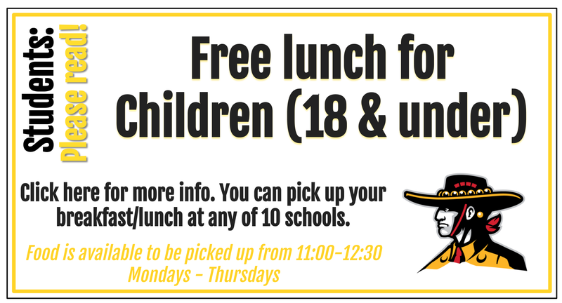 Free lunch 11-12:30