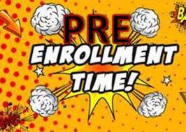 PreEnrollment Time graphic