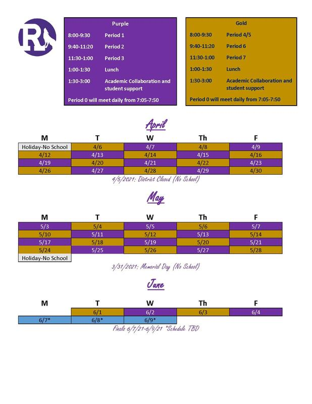 Quarter 4 - PurpleGold Schedule Thumbnail Image