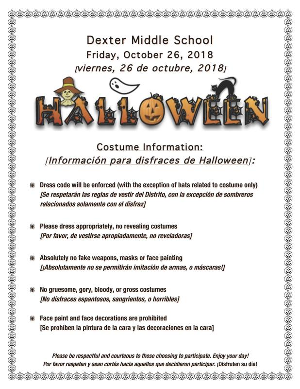 Guidelines for costumes
