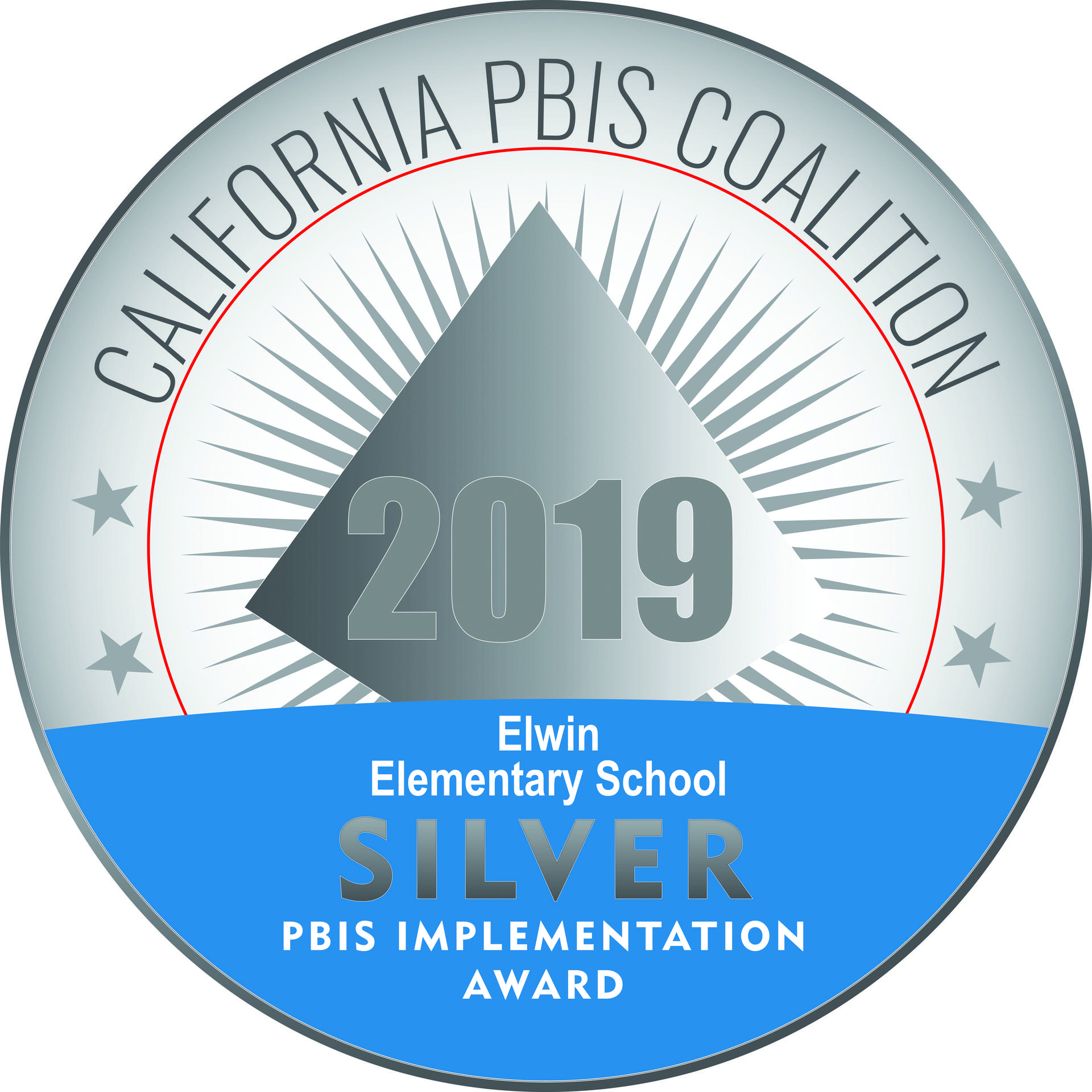 California Silver PBIS Award