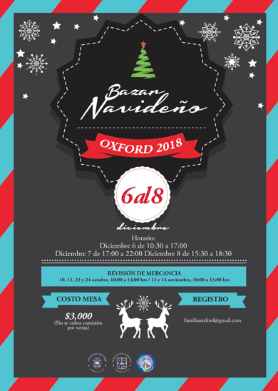 Bazar Navideño Oxford 2018 Featured Photo