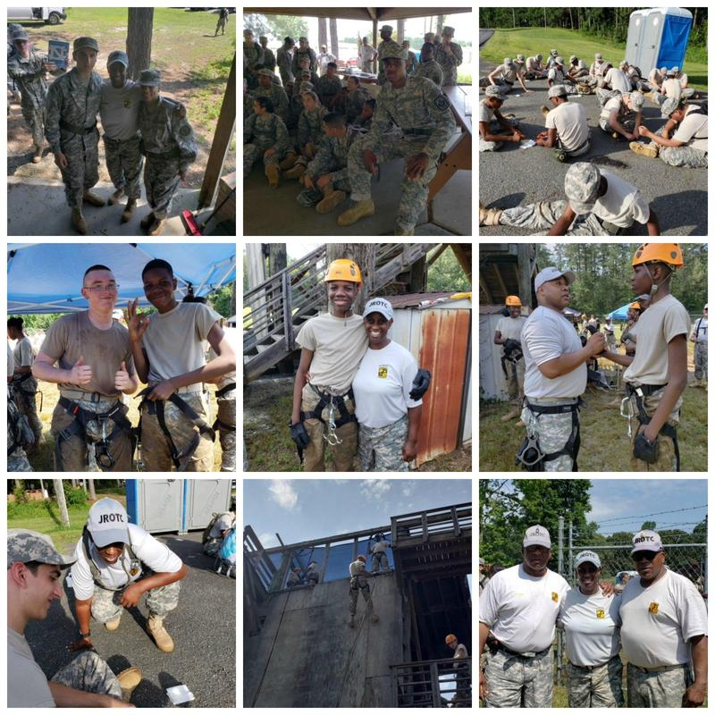 JROTC Cadets Challenge Themselves at Camp Success Thumbnail Image