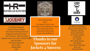 Jackets 4 Success Sponsors