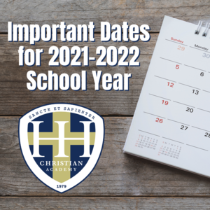 Important Dates 2021-2022