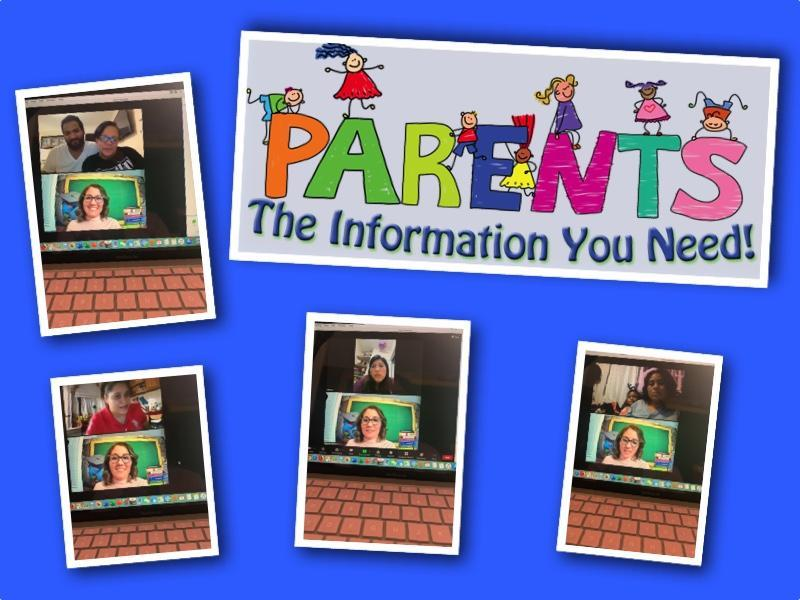 parent meetings on zoom collage