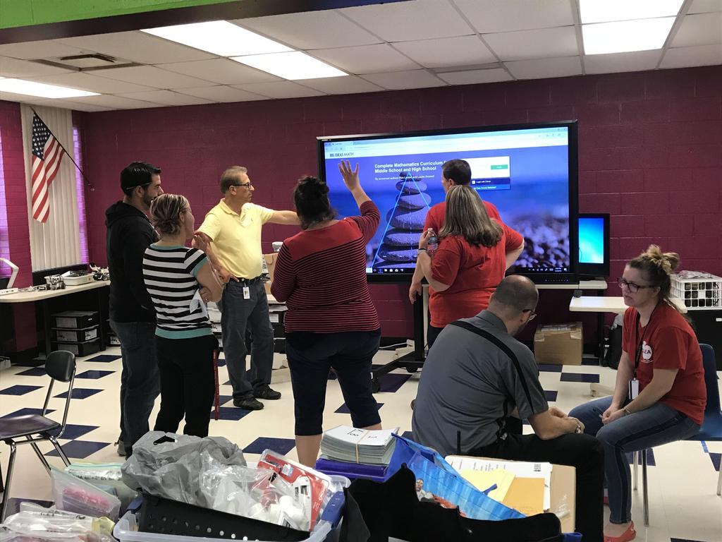 Wolfe teachers test out tech equipment
