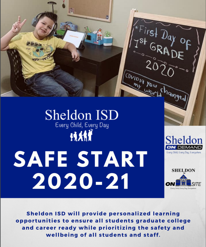 Sheldon ISD shares updated Safe Start Plan Featured Photo