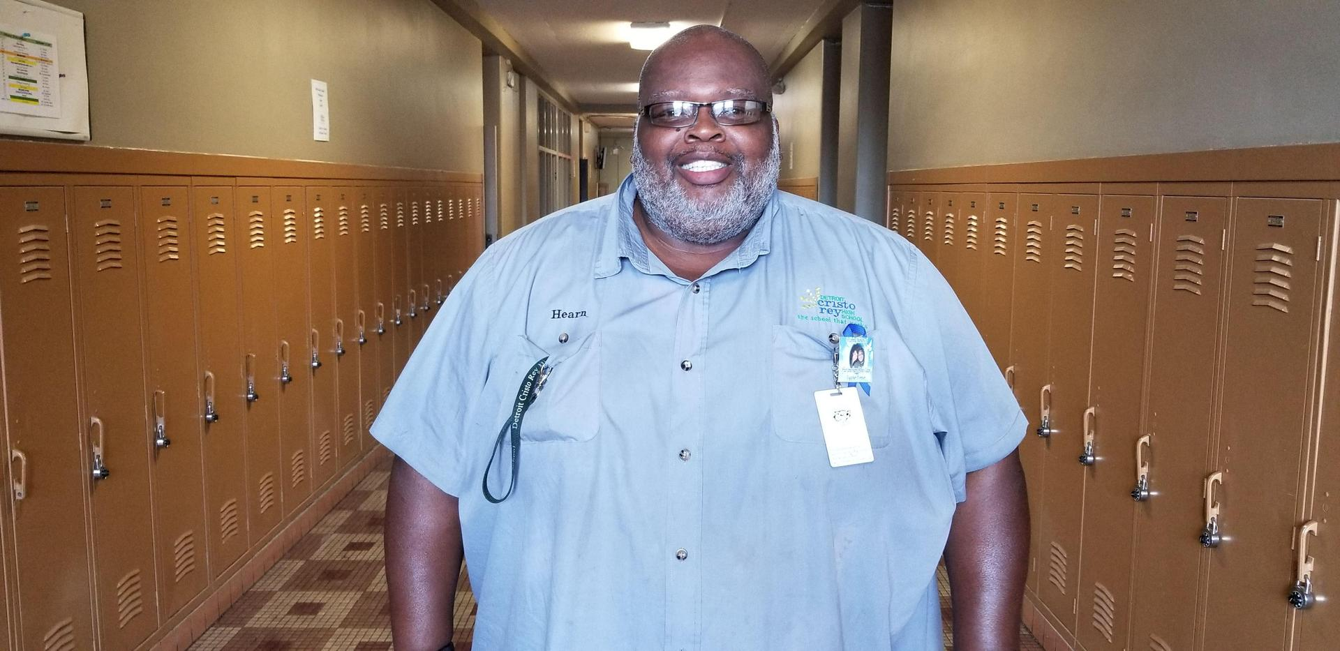 Andre Hearn, Janitorial Custodian