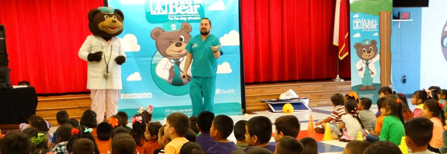 DHR presentation during Red Ribbon Week