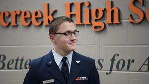 Cadet Joseph Wilson Receives Scholarship