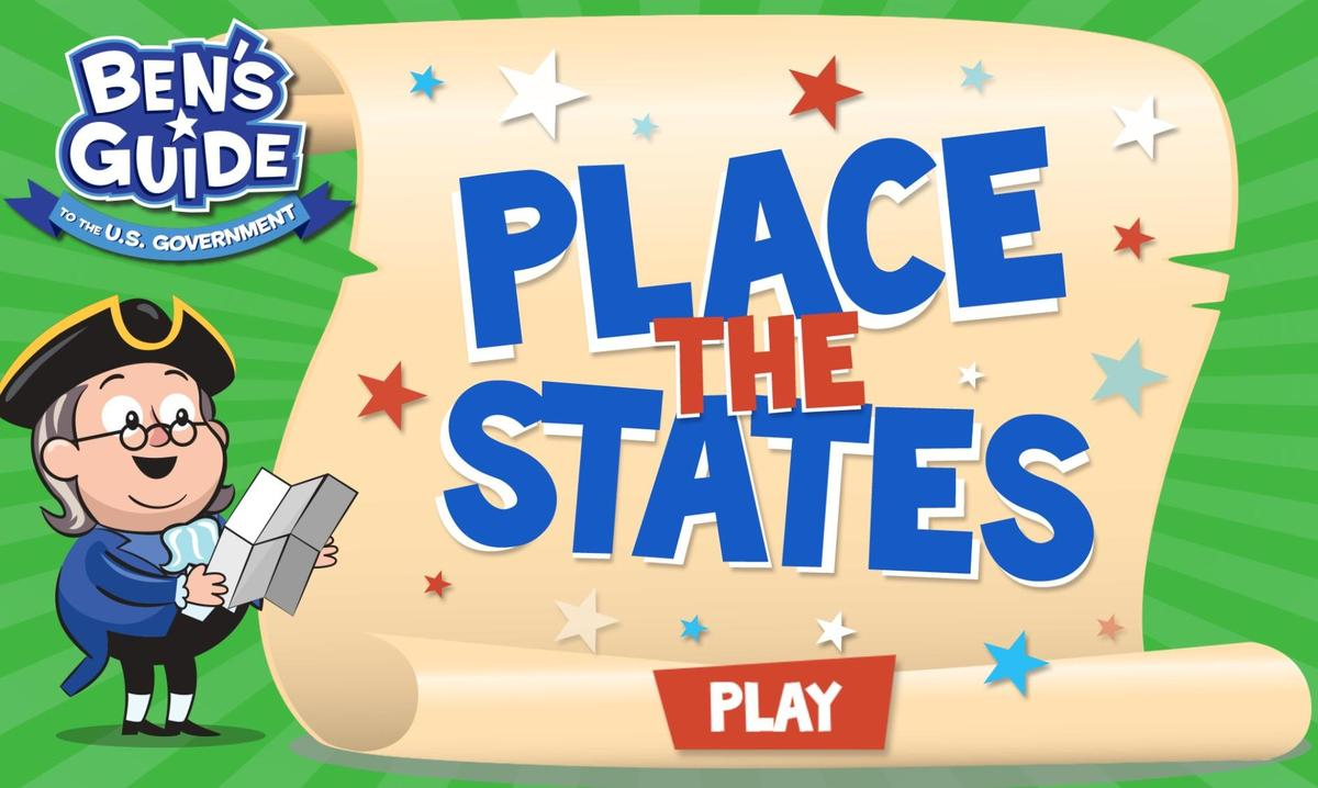 Place the states