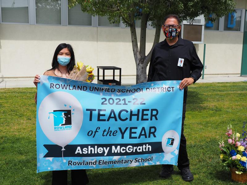Ashley McGrath District Teacher of the Year