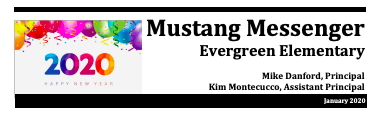 January Mustang Messenger