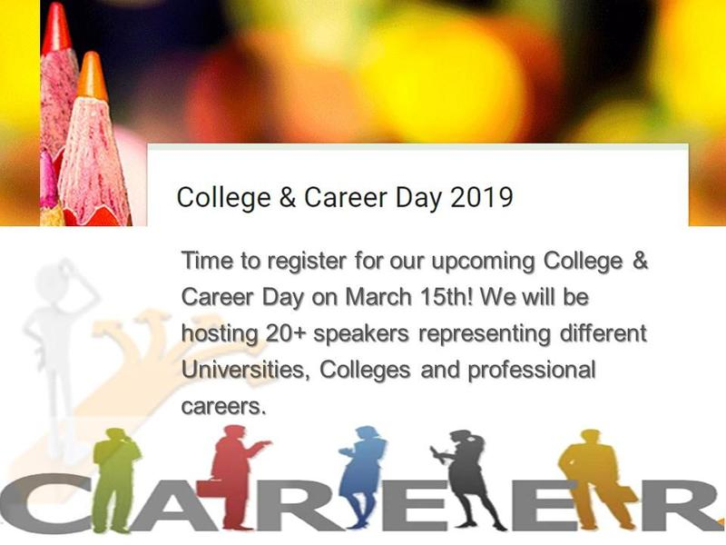 8th Grade College and Career Day 2019 - Sign Up Here! Featured Photo