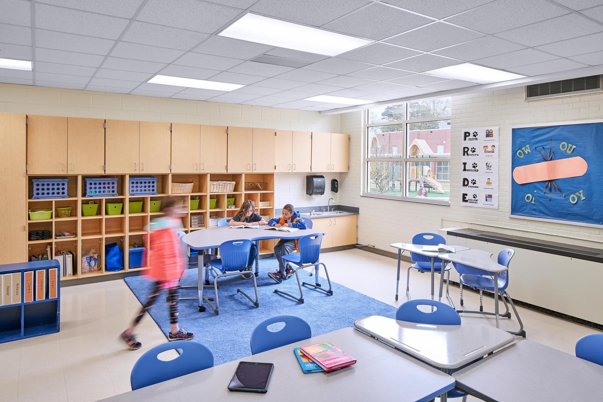 Saluda River Remodeled Classroom
