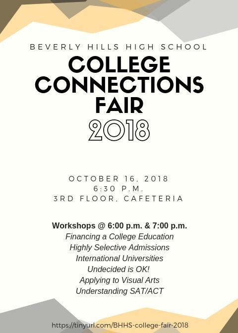 Home – Fall College Connections Fair – Beverly Hills High School