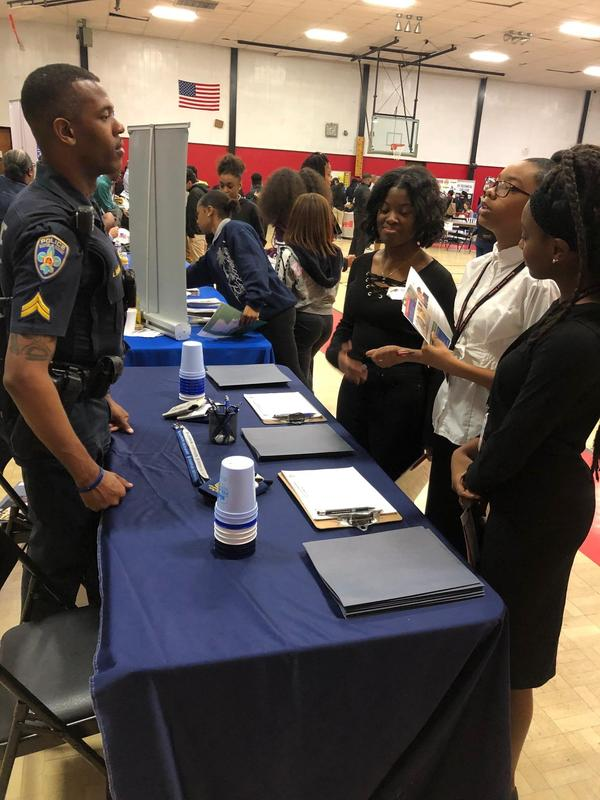 Baker Middle JAGs Attend Baker High College & Career Fair Thumbnail Image