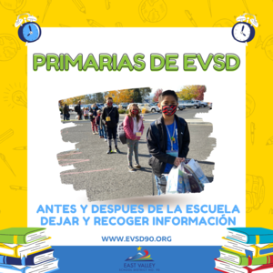 EVSD Elementary School Pick Up and Drop Off Information