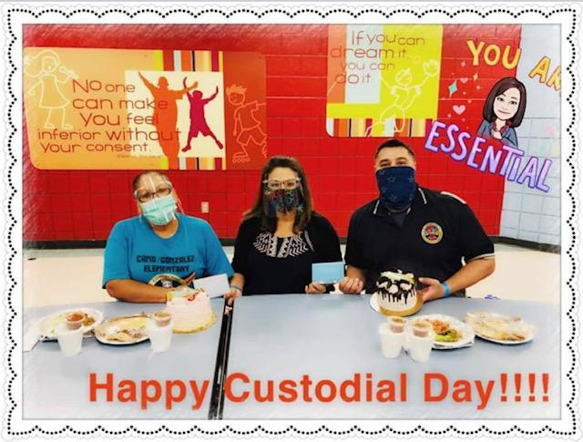 Celebrating National Custodian Day