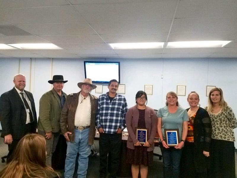 District Names Jacqueline Lopez and Stacia Hartwell as its Employees of the Month Featured Photo