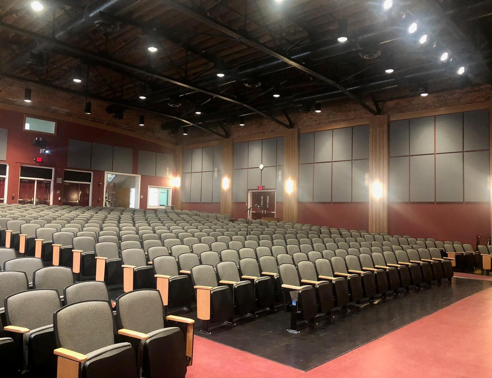 Brookland-Cayce High School Renovated Auditorium Seating
