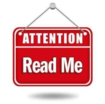 attention read me image
