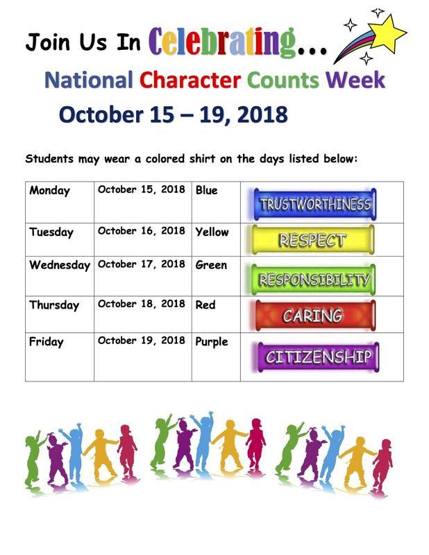 National Character Counts Week