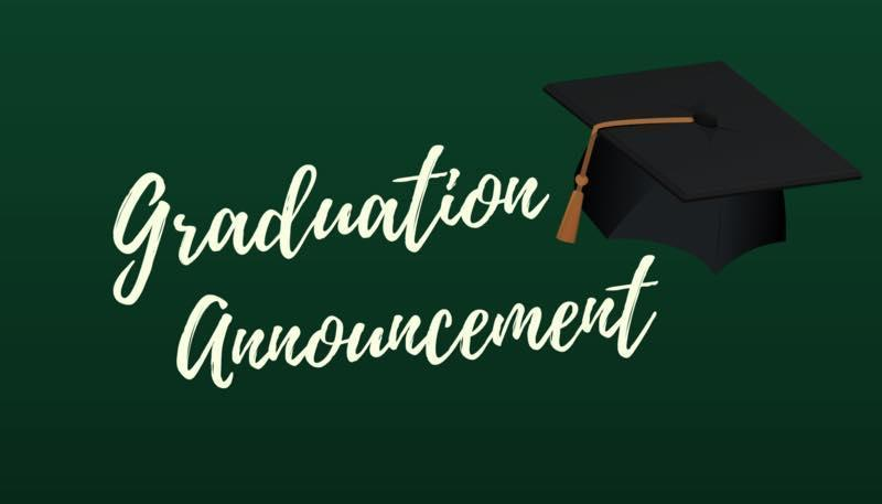 Graduation Info and Sign up Thumbnail Image