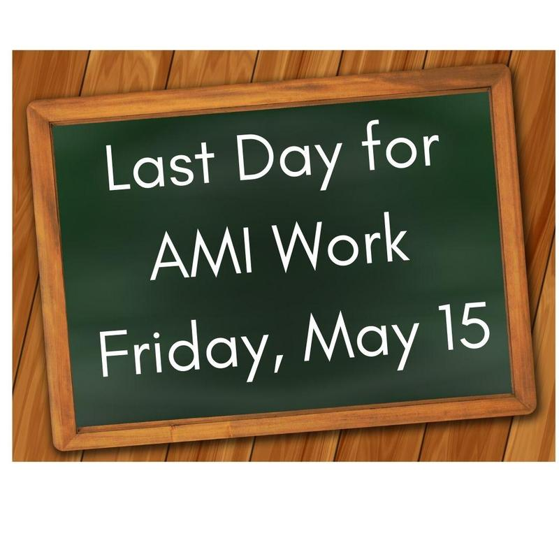 Last Day for AMI Work Featured Photo