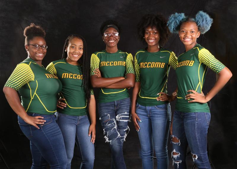 The McComb High School 2019-2020 Football Senior Managers!