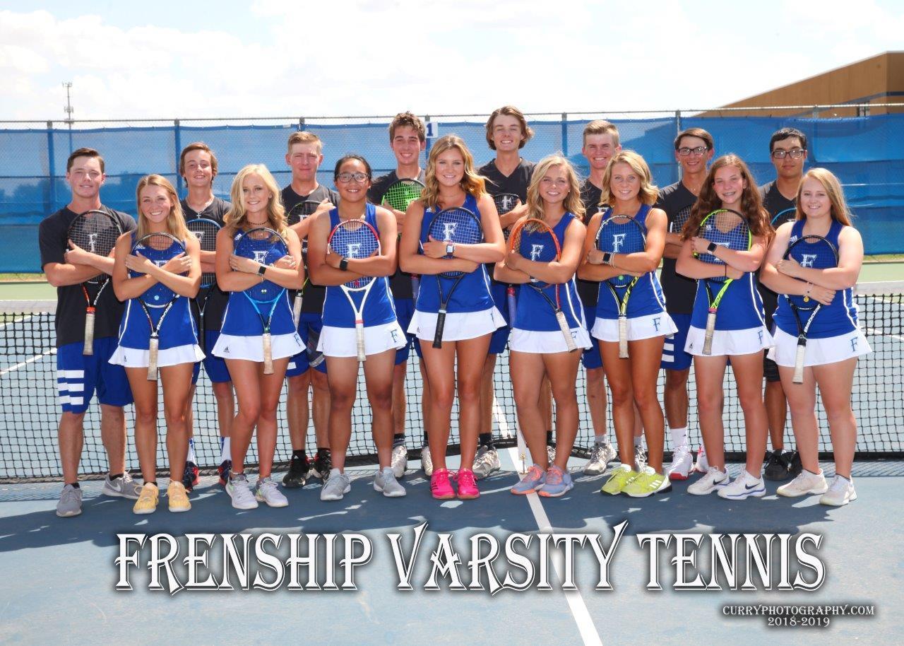 Frenship Tiger Tennis 2018