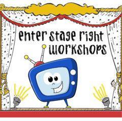 Enter Stage Right Workshops logo