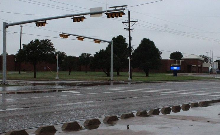 New Traffic Light by Bennett Elementary