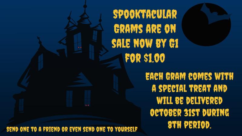 Spooktacular Grams on sale