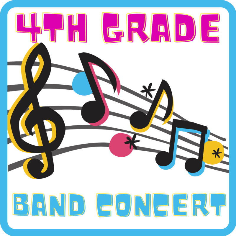 4th Grade Band Concert Featured Photo