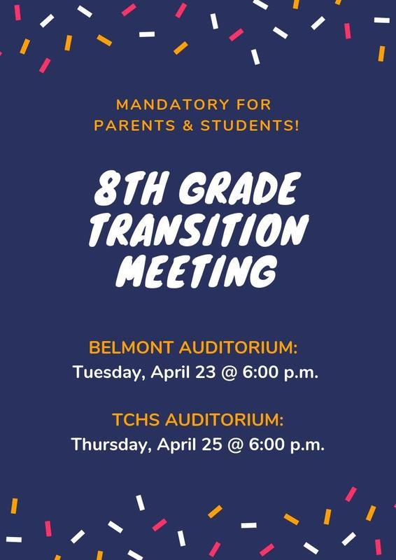 8th Grade Transition Meeting