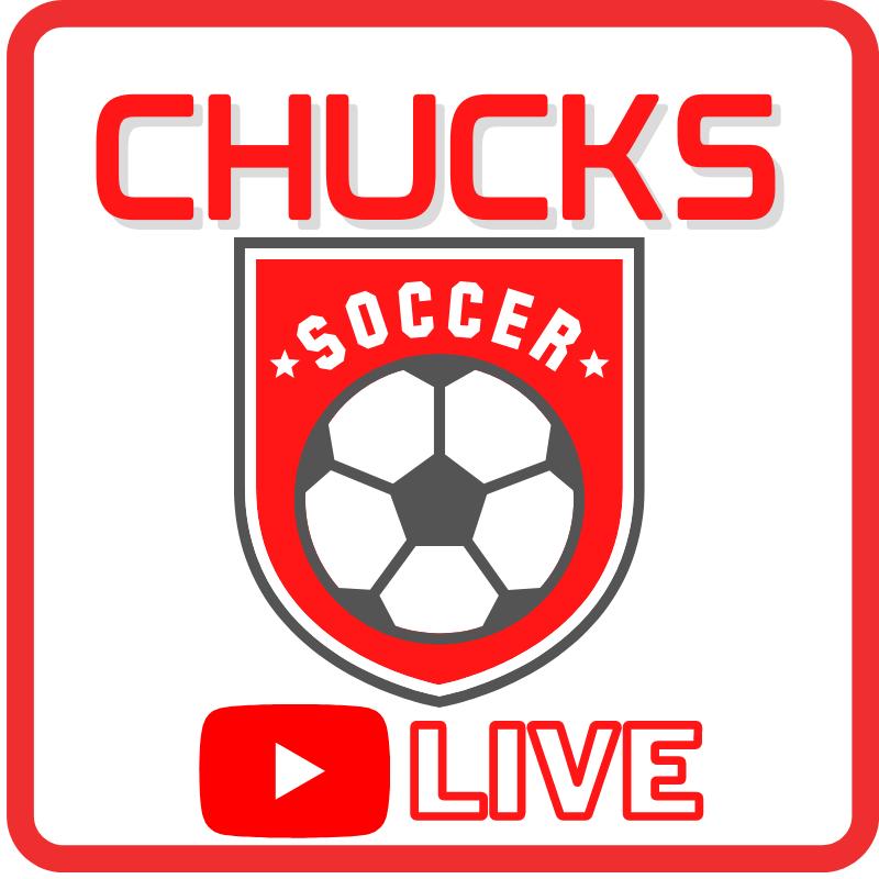 Chucks Soccer Live Logo