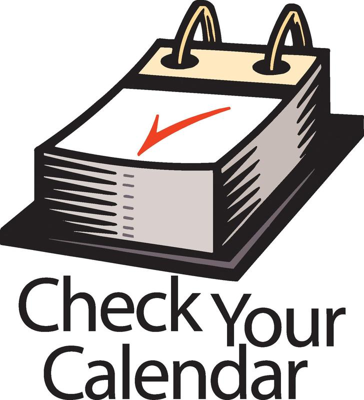 check your calendar