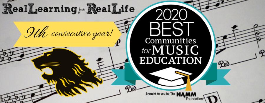 RLASD NAMM 2020 Best Community for Education