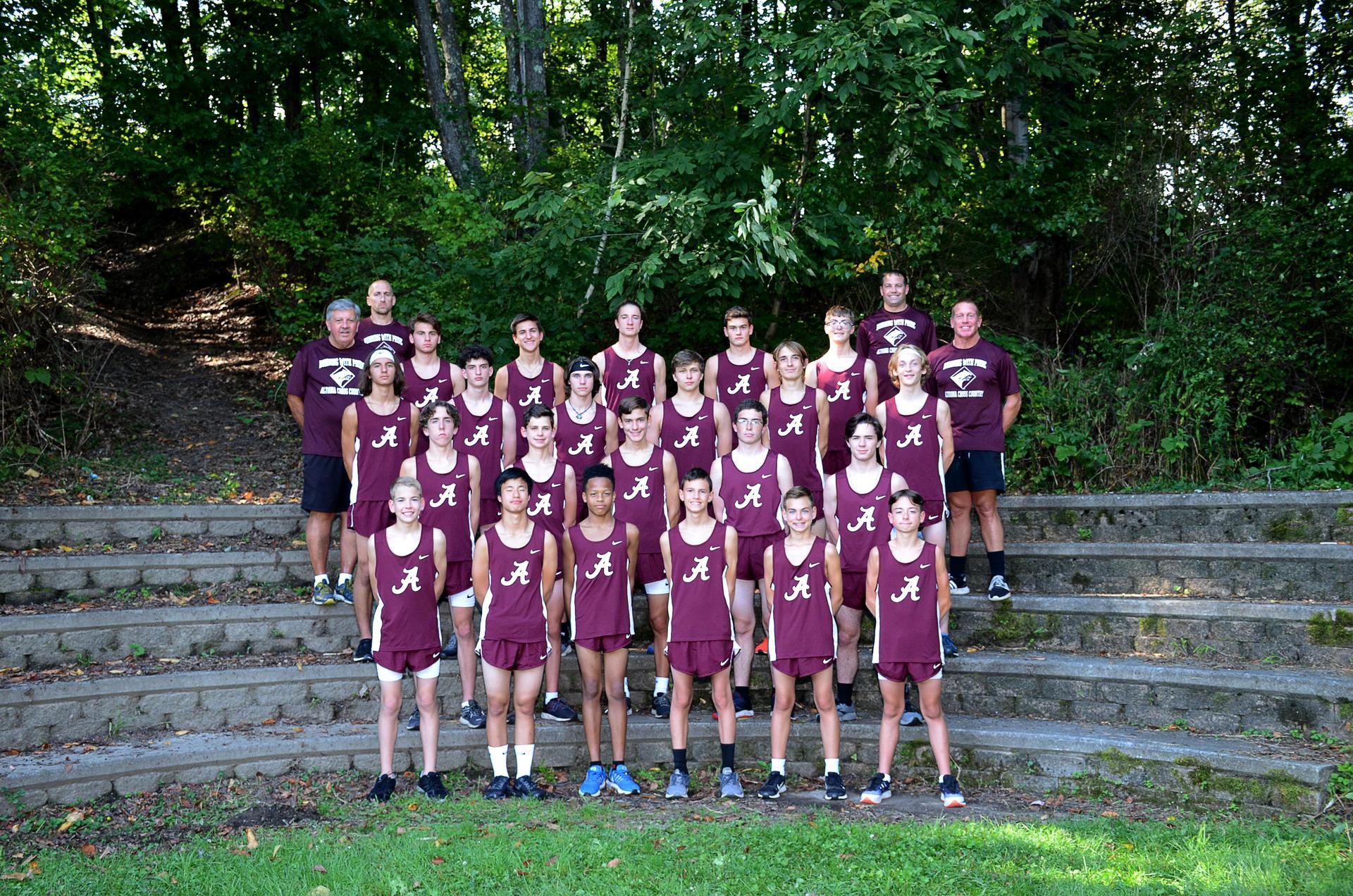 2019 AAHS Boys Cross Country Team